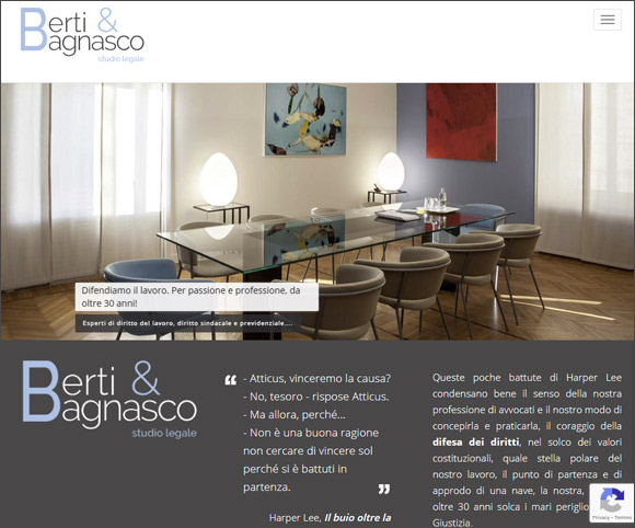 Siti Web per avvocati, notai, commercialisti, consulenti del lavoro, geometri, architetti