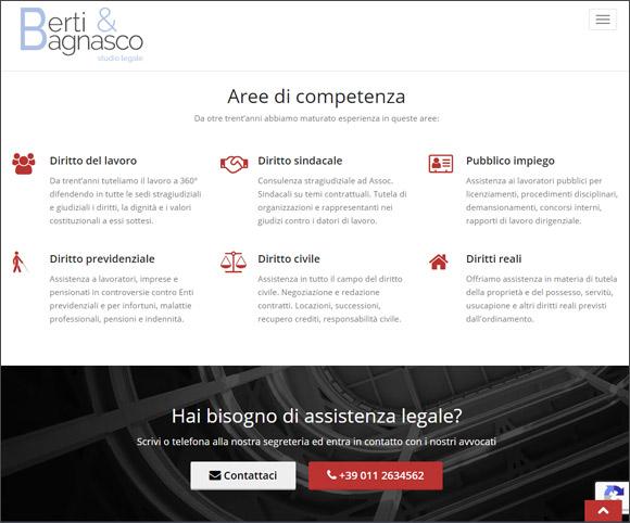 Studio professionale online - Aree di competenza - Specializzazioni