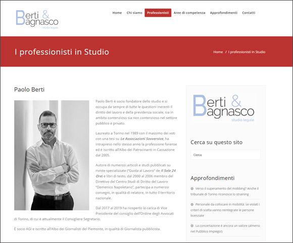 I professionisti si presentano online - Pagine dedicate - Avvocati, commercialisti, notai, consulenti