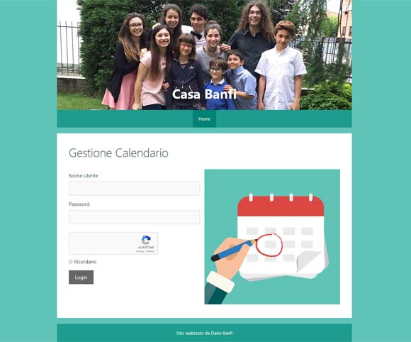 Teamwork Casa Banfi Website