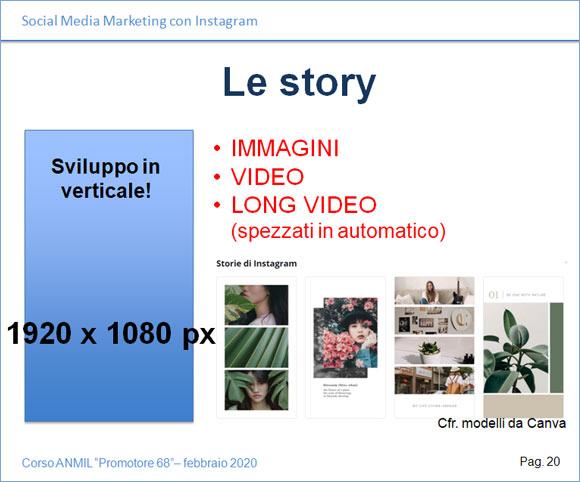 Come sviluppare le Story per Instagram
