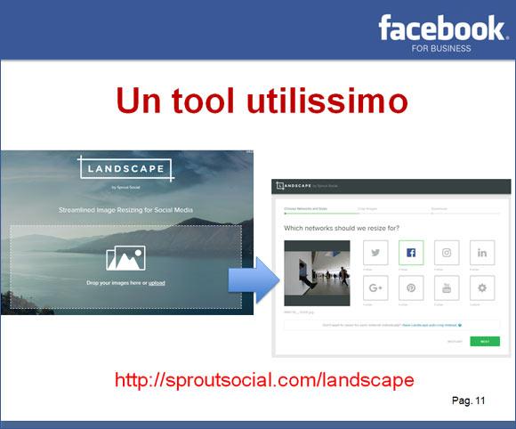 Tool per ottimizzazione immagini per social media