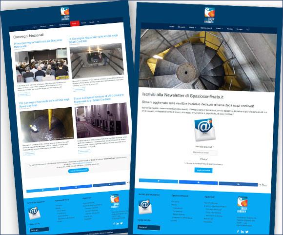 Tema blank per WordPress + Stili personalizzati + Nuova usabilità e architettura delle informazioni