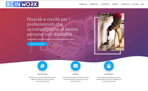 """Sito di prova - Beinwork.it - Corso """"Promotore 68"""""""