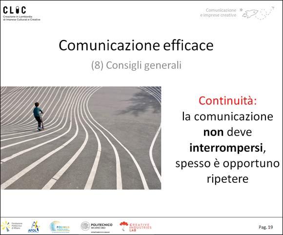 La comunicazione efficace per le imprese del settore creativo e culturale