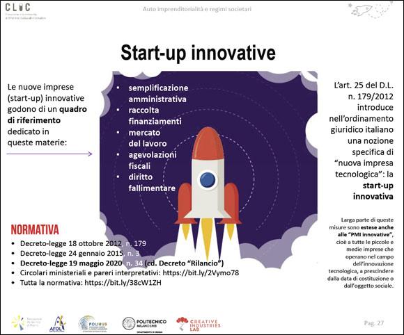 Costituire una startup innovativa - Normativa, vantaggi, opportunità