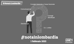 Evento Web #Notainlombardia