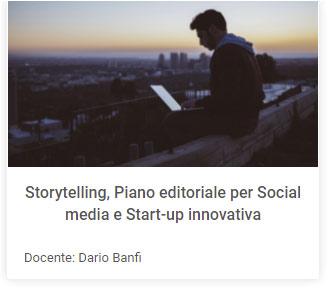 Corso Storytelling Piano Editoriale
