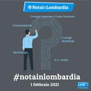 Evento Notai in Lombardia - Minisito ed streaming online