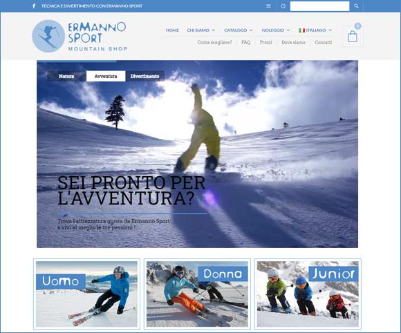 Noleggio sci e attrezzatura invernale con Woocommerce